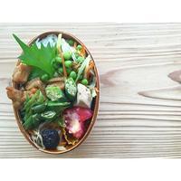 牛蒡天と白菜の生姜醤油煮BENTO - Feeling Cuisine.com