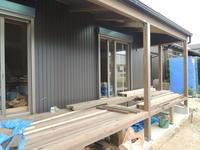 「平安光縁の家/幸田」 光縁のウッドデッキ張り - KANO空感設計のあすまい空感日記