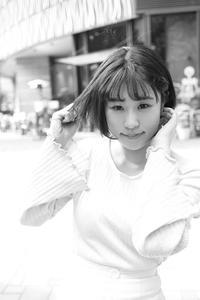 えりちゃん23 - モノクロポートレート写真館