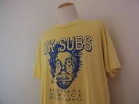 Vintage 90s UK SUBS ヴィンテージ UKサブス ツアー バンド Tシャツ - Used&Select 古着屋 コーナーストーン CORNERSTONE