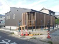 「平安光縁の家/幸田」 外構の塀支柱設置 - KANO空感設計のあすまい空感日記