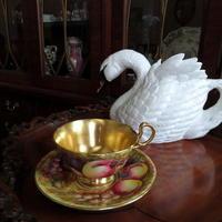 英国製の白鳥のティーポット♪ - アンティークな小物たち ~My Precious Antiques~