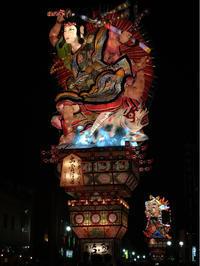 圧倒される山車の大きさ〜五所川原の立佞武多祭 - 素敵なモノみつけた~☆