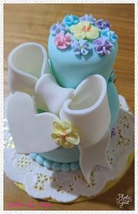 結婚&出産のお祝いケーキ♪ - ずっと飾って楽しめる♪シュガークラフトケーキ作家 らぶのブログ