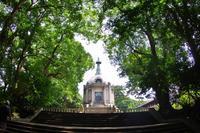 森に佇む聖教殿 - はーとらんど写真感