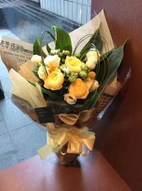 カタリナの花束 - 花だより 海浜幕張駅 花屋 テーブルコサージュ・ラボ~フラワーショップ~