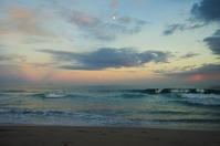 にぎやかな夕空 - 雲空海