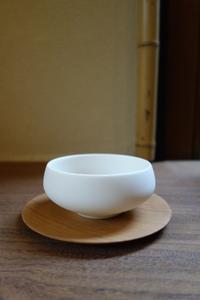 木地仕上げのお茶托 - g's style day by day ー京都嵐山から、季節を楽しむ日々をお届けしますー