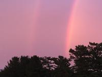二重の虹!とミミエデン - はまあやのくらし