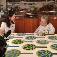 桧山タミ先生のNHK取材の1日 - Kitchen Paradise Aya's Diary