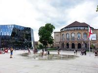 新広場の完成で、フライブルクの旧市街が拡大! - ドイツの優しい暮らし Part 2