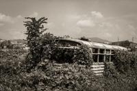 2017年8月10日 松竹梅で言えば松マイナス級の廃バス - Silver Oblivion