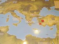 話題の新作マルチゲーム(GMT)Time of Crisisを、マン・トゥ・マン対戦で試してみた - YSGA 例会報告