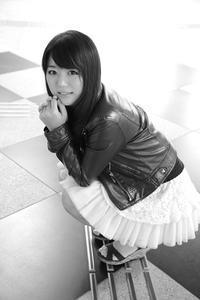 堀川愛美ちゃん193 - モノクロポートレート写真館