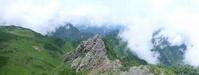 北海道の山 日本二百名山 芦別岳 (1,726.1M)   下山 編 - 風の便り