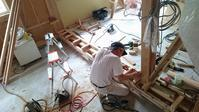 【千年の家・・・内部の大工工事進んでいます】 - 木楽な家 現場レポート