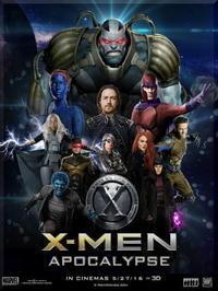 X-MEN:アポカリプス ☆☆☆☆★ - The Movie -りんごのページ-