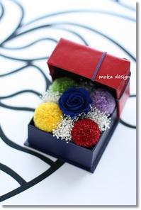 5色の玉手箱* - Flower letters