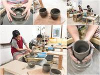 本日の陶芸教室 Vol.739 - 陶工房スタジオ ル・ポット