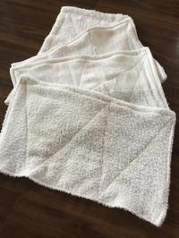 ひまつぶし雑巾づくり - いろんなところに出没中