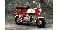 モンキー特別展示 - バイクの横輪