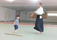 孫と遊んで体力づくり - アオモジノキモチ