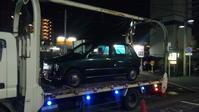 江東区から放置車両をレッカー車で廃車の引き取り撤去しました。 - 廃車戦隊引き取りレンジャー