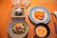 中華風の夕食 - まほろば日記