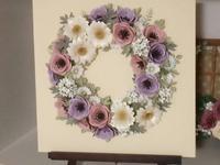 お花のリース - 長野県 上伊那郡から  ハンドクラフト教室を探して