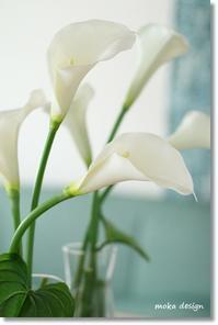 シンプルに・・・ - Flower letters