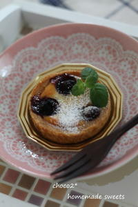 *ブルーベリーチーズケーキ* - ちょこちょこ*homemade Life