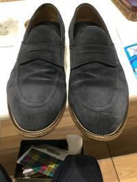 スエード補色 - シューケア靴磨き工房 ルクアイーレ イセタンメンズスタイル <紳士靴・婦人靴のケア&修理>