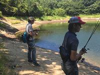 久しぶりの野池釣行 - WaterLettuceのブログ