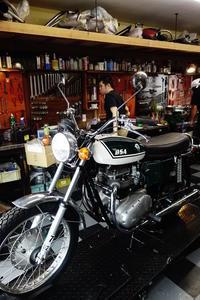 日曜の授業風景 - Vintage motorcycle study