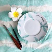 新作〜Handpainting my memories in Hawaii - nicottoな暮らし~うつわとおやつの物語