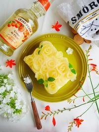 桃ローズのスクエアケーキ♪ - This is delicious !!