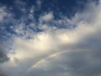 虹!空も綺麗すぎる - 陶芸ブログ 限 無 窯    氷裂貫入青瓷の世界