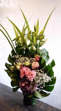 七回忌に。真駒内柏丘9にお届け。2017/08/12。 - 札幌 花屋 meLL flowers