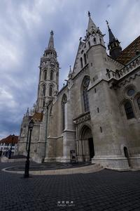 第769回   in Budapest 「 マーチャーシュ教会」 - 湘南群青 -The sunset  blue -