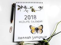 2018年のハナさんのカレンダーが届きました! - ブルーベルの森-ブログ-英国のハンドメイド陶器と雑貨の通販