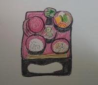 お盆 - たなかきょおこ-旅する絵描きの絵日記/Kyoko Tanaka Illustrated Diary