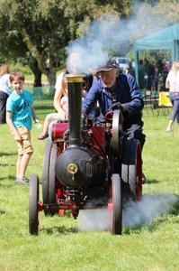 ミニチュア蒸気機関車 - イギリスのマダム??