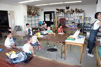 児童画クラス夏の体験講座「冒険ものがたりに出発!」 - 大阪の絵画教室 アトリエTODAY