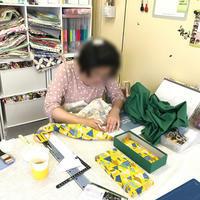 生地お持ち込みOKのカルトナージュ教室です - 明石・神戸・兵庫県のカルトナージュ&タッセル教室 アトリエ・ペルシュ