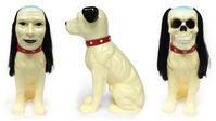 あのニッパーの人面犬ソフビ、予約開始 - 下呂温泉 留之助商店 店主のブログ