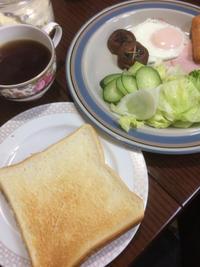 トースト - 庶民のショボい食卓