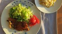 夏の定番、豚肉の生姜焼き - ロンドンの食卓