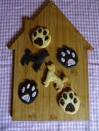 わんこの肉球クッキー☆ - パンのちケーキ時々わんこ