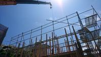 木造住宅建て方作業 - ティーダホームの日々