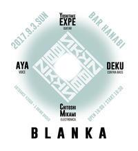 """9/3(日) """"BLANKA"""" at BAR hanabi - I am HALATION"""